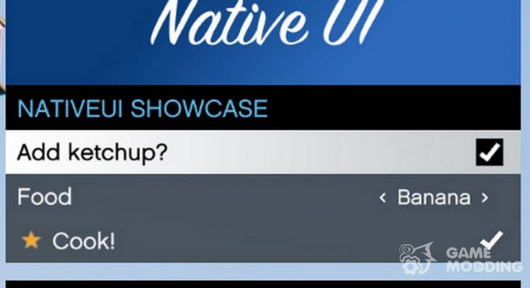 NativeUI 1 7 for GTA 5