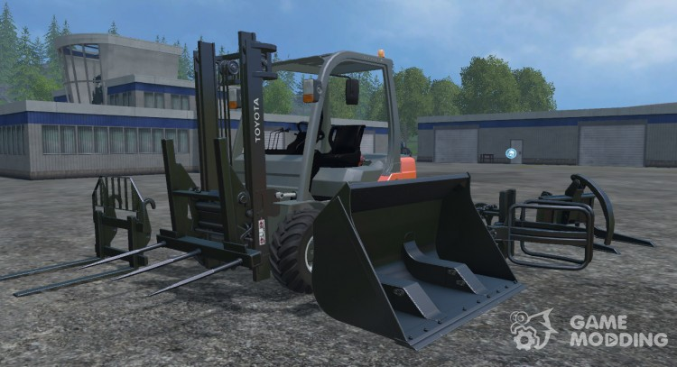 Toyota Forklift for Farming Simulator 2015