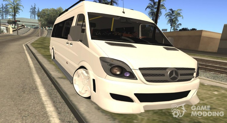 Mercedes-Benz Servis Sprinter for GTA San Andreas