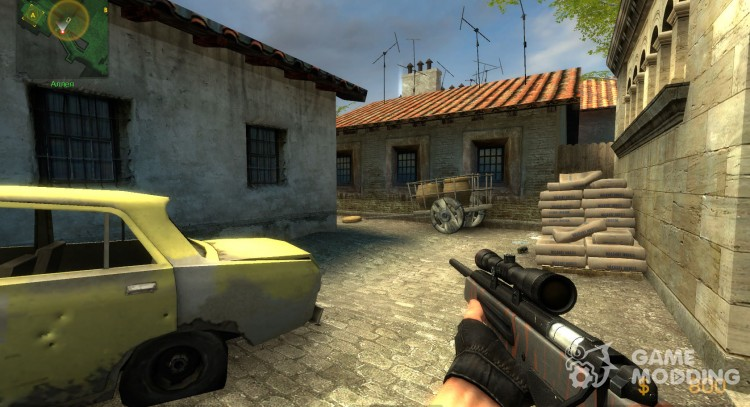iNferno's Red Tiger Scout for Counter-Strike Source