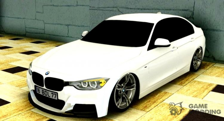 2015 BMW 3-series 335i M-Sport Line for GTA San Andreas