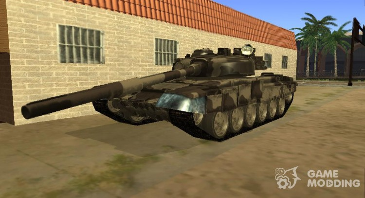 Tank T-72 for GTA San Andreas