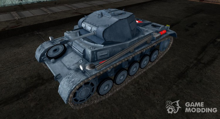 The Panzer II BoloXXXIII for World Of Tanks