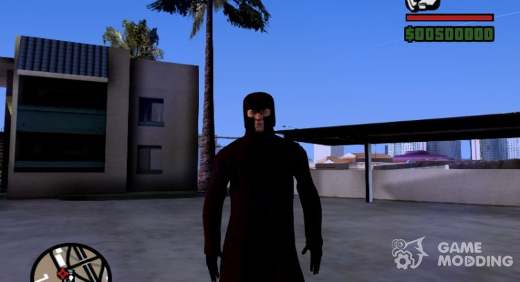 Magneto Erik Lehshnerr for GTA San Andreas