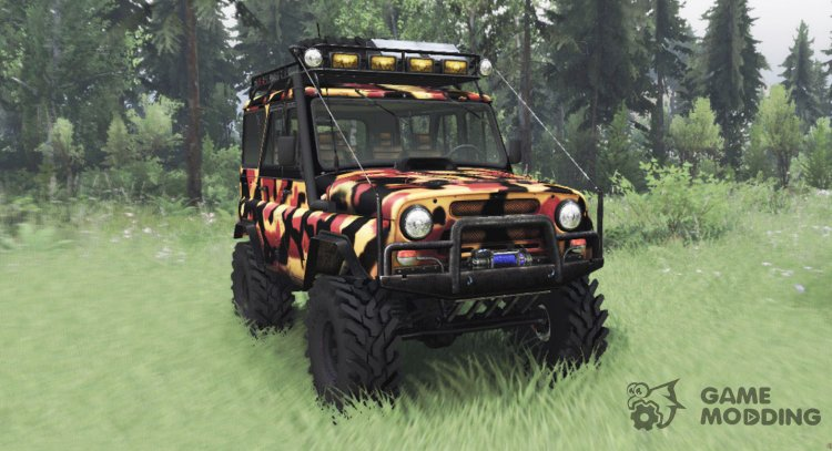 UAZ 31514 Tundra for Spintires 2014