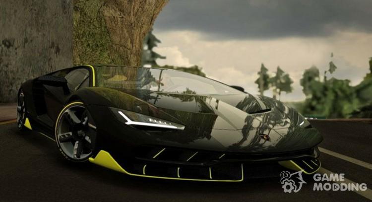 2017 Lamborghini Centenario Lp770 4 For Gta San Andreas