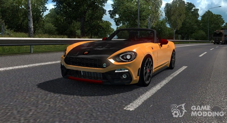 Fiat 124 Spider for Euro Truck Simulator 2