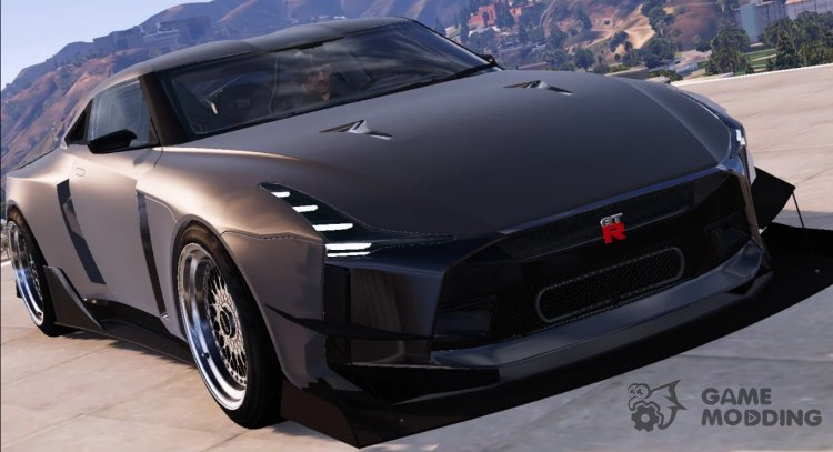 Nissan GT-R50 Custom for GTA 5