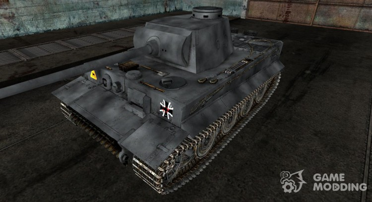Skin for the Panzer VI Tiger for World Of Tanks