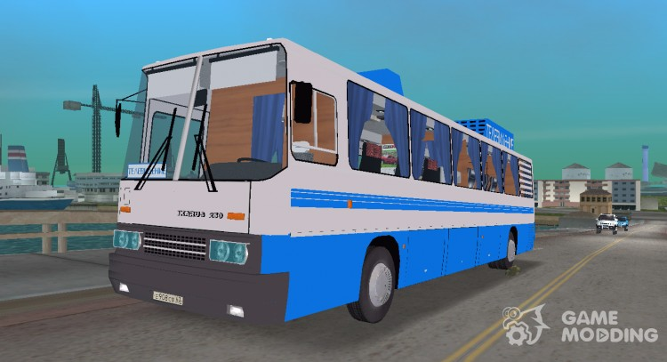 Ikarus 250 TV for GTA Vice City