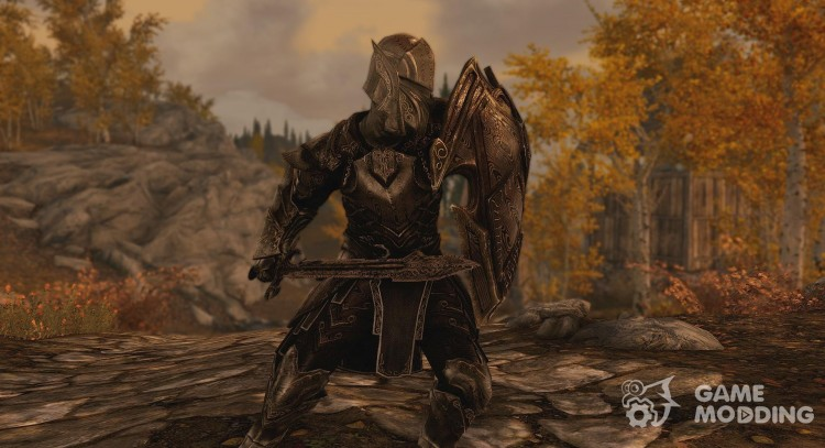 Real Damascus Steel Armor and Weapons for TES V: Skyrim