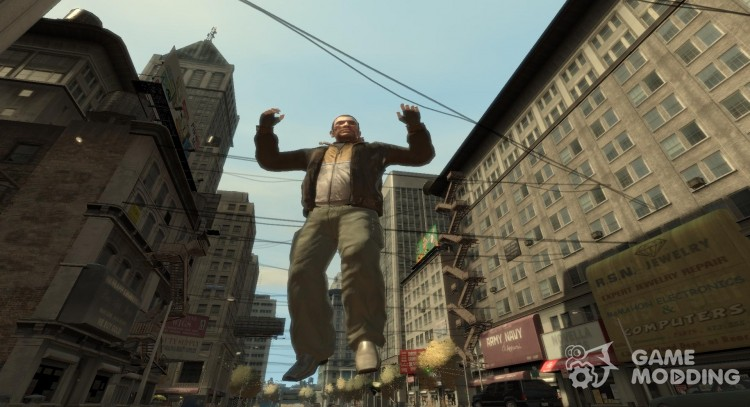 Bullet Time for GTA 4
