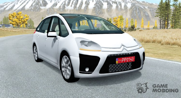 Citroen C4 Picasso 2010 for BeamNG.Drive