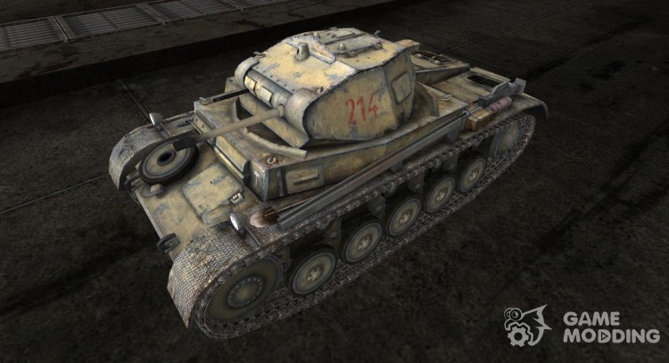 Skin for the Panzer II for World Of Tanks