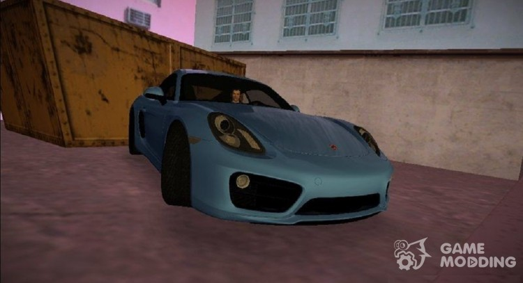 Porsche Cayman S 2014 for GTA Vice City