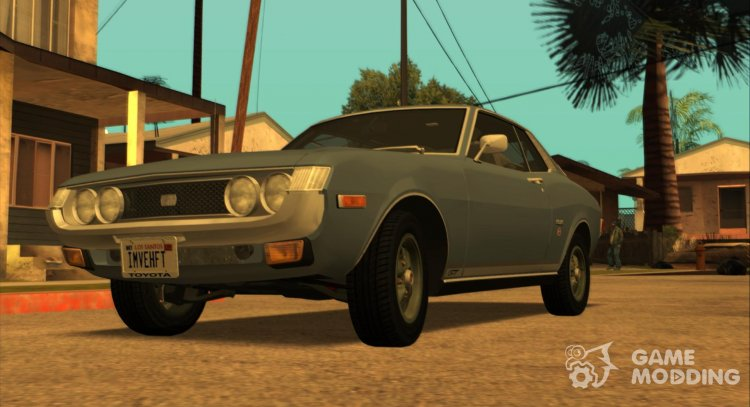 1974 Toyota Celica GT (US-Spec) for GTA San Andreas