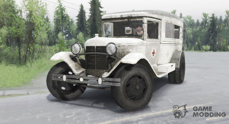 GAS 55 1938 Sanitary for Spintires 2014