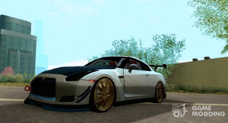 Nissan GTR R35 Car Tuning for GTA San Andreas