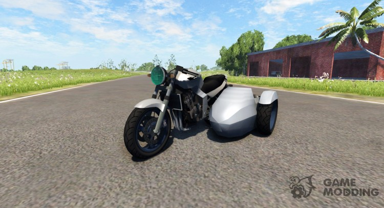 Ducati FRC-900 with a sidecar v4.0 for BeamNG.Drive