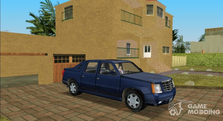 2002 Cadillac Escalde EXT (VC Style) for GTA Vice City