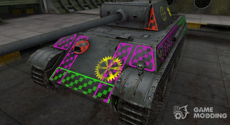 Quality of breaking through for PzKpfw V Panther for World Of Tanks