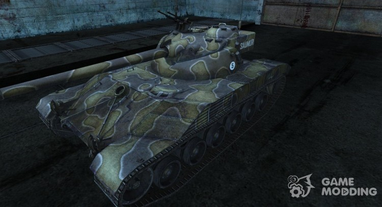 Skin for Bat Chatillon t 25 No. 9 for World Of Tanks