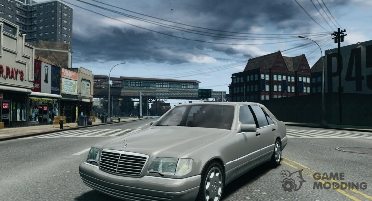 Mercedes-Benz W140 S600 for GTA 4