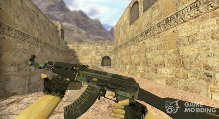 AK-47 Elite gear for Counter Strike 1.6
