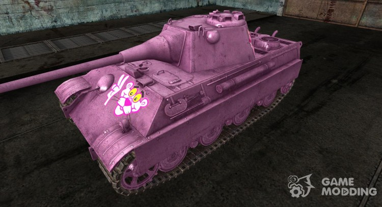 Шкурка для Pink Panther II для World Of Tanks
