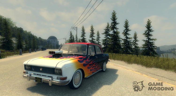 Moskvich 2140 1.0 for Mafia II