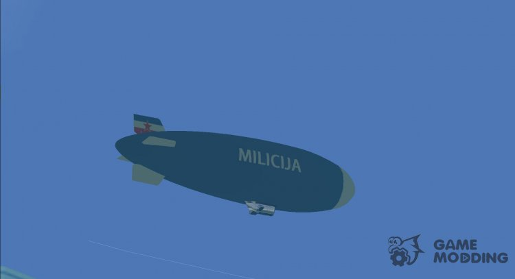 Dirigible of SFR Yugoslav Milicija (police) for GTA Vice City