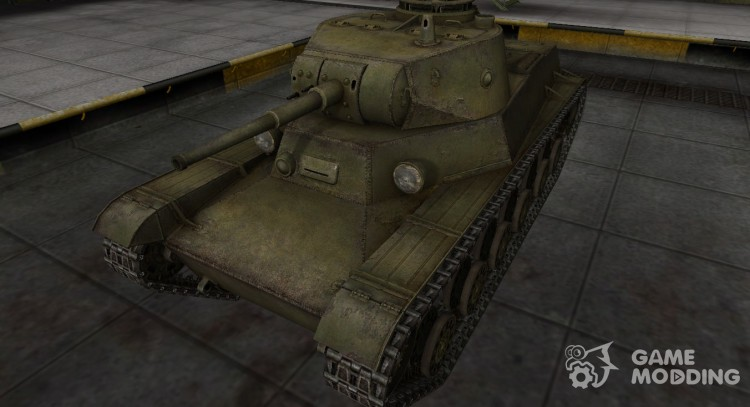Skin for t-50-2 in rasskraske 4BO for World Of Tanks