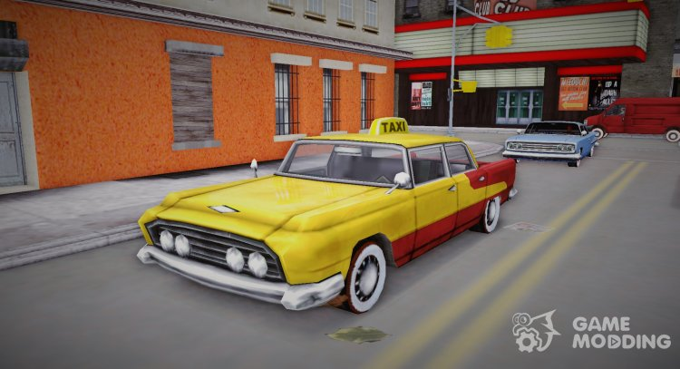 Oceanic Taxi for GTA 3