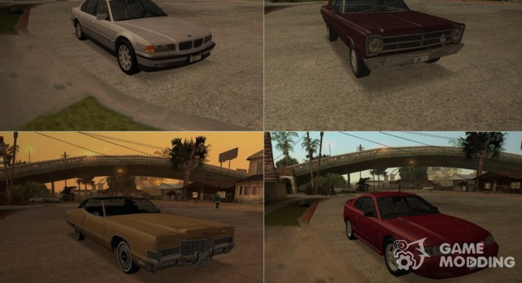 Oldschool vehicles for GTA San Andreas