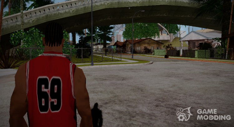 The camera position of the character in GTA 5 for GTA San Andreas