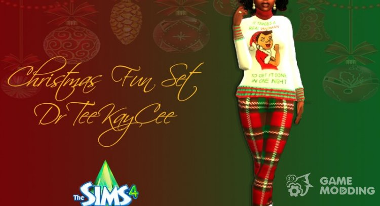 Christmas Fun Set for Sims 4