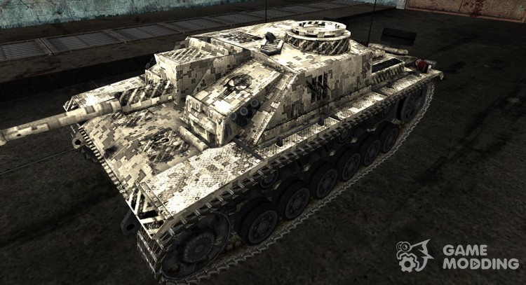 Skin for StuG III for World Of Tanks