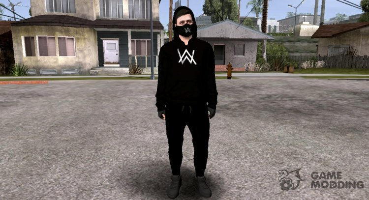 GTA Online Random Skin Alan Walker V1 for GTA San Andreas