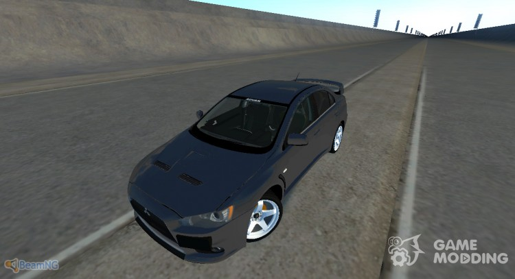 Mitsubishi Lancer Evolution X for BeamNG.Drive
