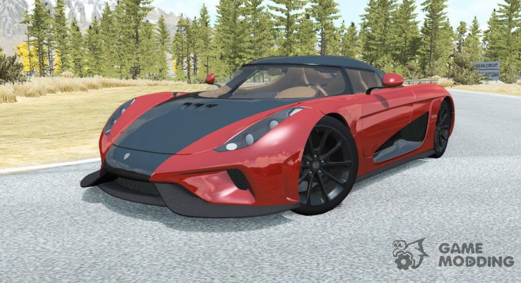 Koenigsegg Regera 2017 for BeamNG.Drive