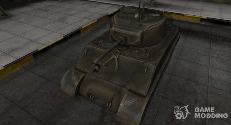 Emery cloth for American tank M4A3E2 Sherman Jumbo for World Of Tanks