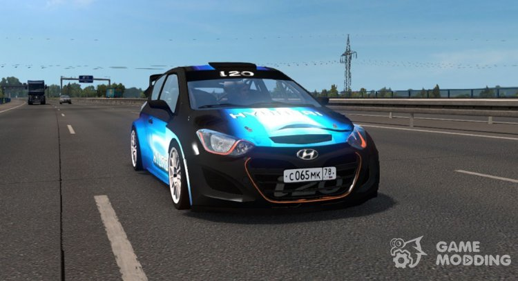 Hyundai i20 WRC for Euro Truck Simulator 2