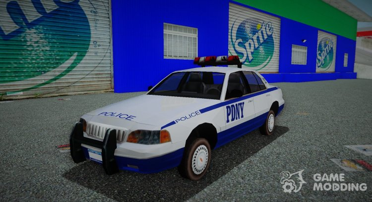 Police from True Crime: New York City for GTA 3