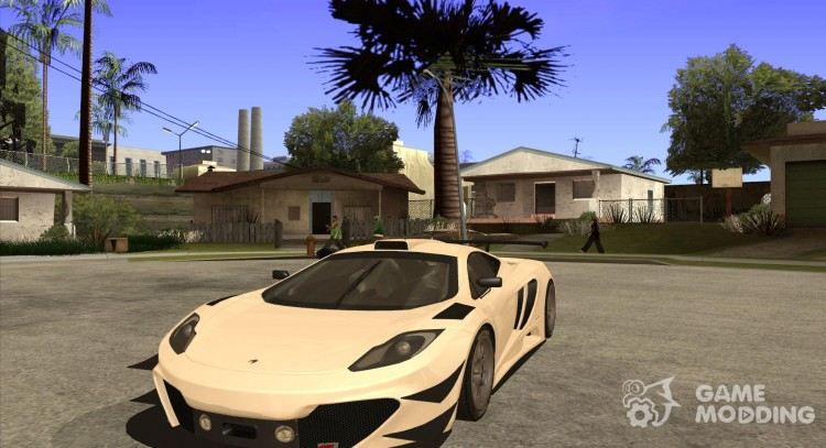 McLaren MP4-12 c Speedhunters Edition for GTA San Andreas