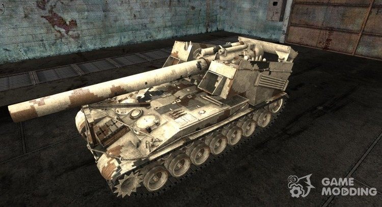 Skin for substitution model No. 20 for World Of Tanks