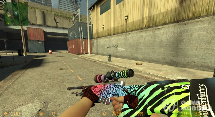 AWP Superfurry for Counter-Strike Source