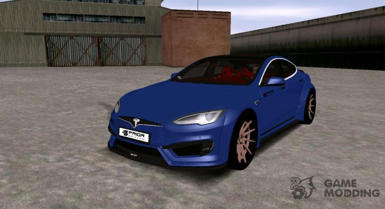 Tesla Model S P100 Prior Design for GTA San Andreas