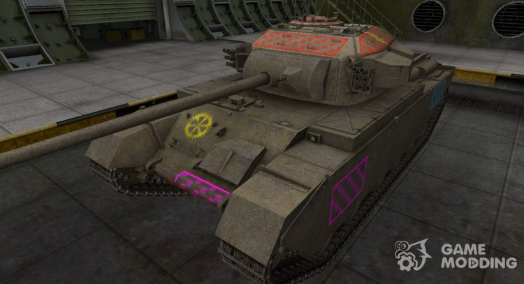 Quality of breaking through for a Centurion Mk 7/1 for World Of Tanks