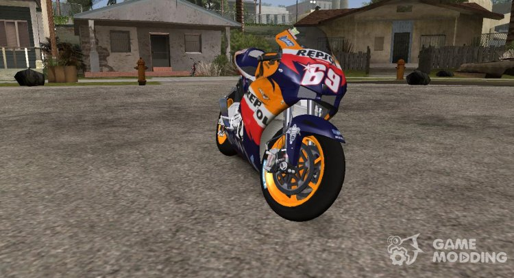 2006 Honda RC211V Repsol Nicky Hayden for GTA San Andreas