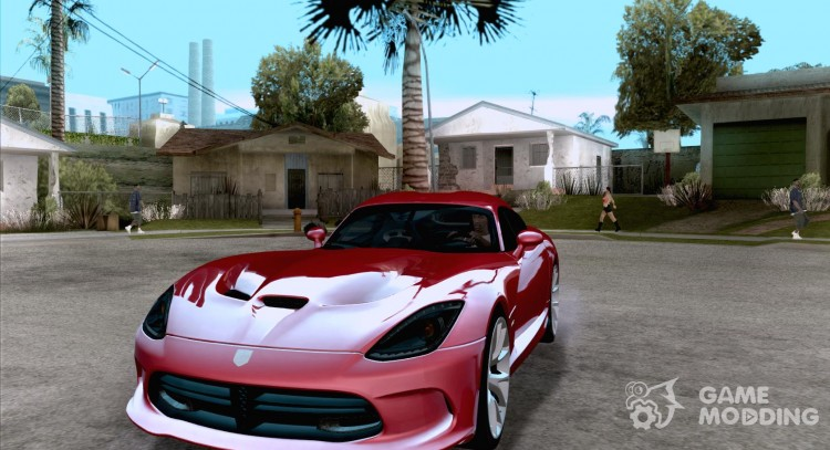 Dodge SRT Viper GTS 2012 V 1.0 for GTA San Andreas
